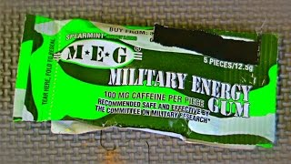 Military Energy Gum Taste Test