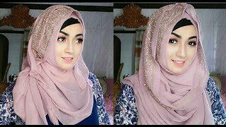 Easy and Comfortable Hijab styles with Gown | Pari ZaaD ❤