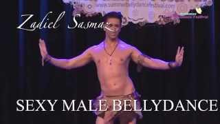 ZADIEL SEXY BOY/MAN MALE BELLYDANCE SHOW - Turkish male Bellydancer
