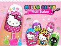Hello kitty nail salon unlock all no ads android os free game gameplay v deo