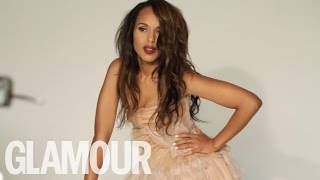 Scandal 's Kerry Washington's Glamour Cover Shoot - Behind the Scenes | Glamour UK