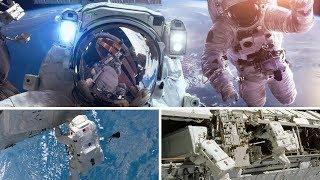 মহাকাশ স্টেশনে বিজ্ঞানীরা যেভাবে কাজ করেন, দেখুন সেই দুর্লভ চিত্র । International Space Station