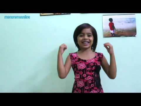 Cute Little Girl Singing Pavakkuttikorumma Malayalam Song | Manorama Online