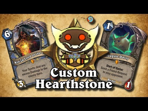 TOP CUSTOM CARDS OF THE WEEK 2 Review Hearthstone