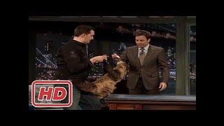 [Talk Shows]Jimmy Fallon Animals : a Giant RattleSnake, Lizard, Sloth, Kangaroo, and a Hedgehog wit
