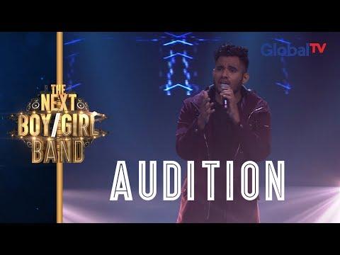 "Roy Sings ""Jealous"" (Labrinth)   The Next Boy  Girl Band GlobalTV"