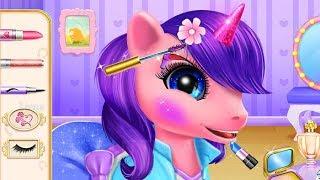 Pony Princess Academy Cartoon Game - Fun Animal Care and Makeover