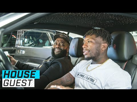 Rick Ross 254 Acre Atlanta Mansion Houseguest with Nate Robinson The Players Tribune