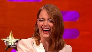 Young Emma Stone Was DESPERATE To Move To L.A | The Graham Norton Show