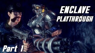 Fallout New California | Enclave Playthrough - Part 1