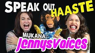 Simpanssi Anssin Speak Out - HAASTE - Mukana Jennysvoices!