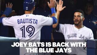 Where does Bautista rank among Blue Jays