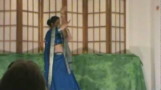 Sudeshna Ganguly solo dance performance - SRF India Night Nov 2011