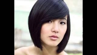 Chinese girl short haircut