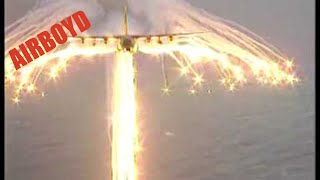 C-130 Angel Wing Flare Pattern