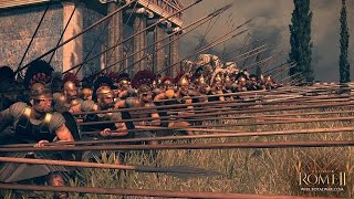 Total war: Rome 2/ Битва при Рафии.