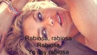 Shakira - Rabiosa Feat. El Cata [Con Letra En La Pantalla] Song HQ