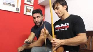 Estudio sobre las distintas notas producidas por los berimbaus