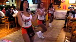 All the Single Ladies: Hooters, Bogota, Colombia