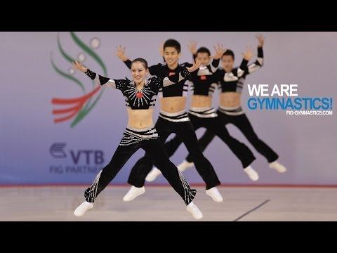 2012 Aerobic Worlds SOFIA Aerobic Step and Dance Finals We are Gymnastics