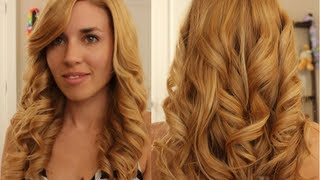 How to get Curls with a Flat Iron - Easy and long lasting!