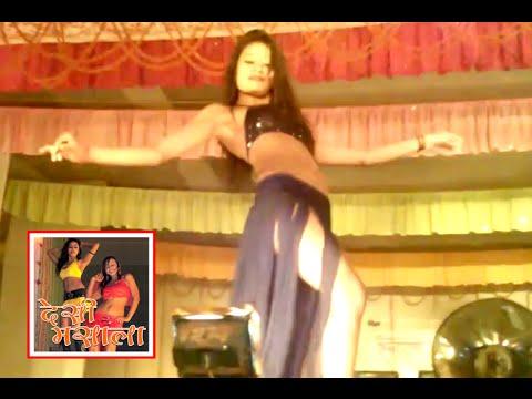 Sexy Nisha Dances in Shobha Samrat Theater at Sonepur Mela 2014