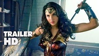 Wonder Woman - Official Comic-Con Trailer 2017 - Gal Gadot, Chris Pine Movie HD
