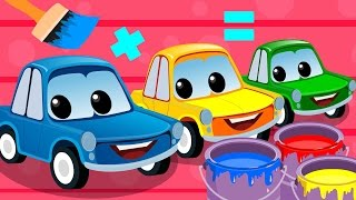 Zeek And Friends |  Mixing Colors | Car Song | Rhymes For Children