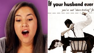 Women Review Sexist Vintage Ads