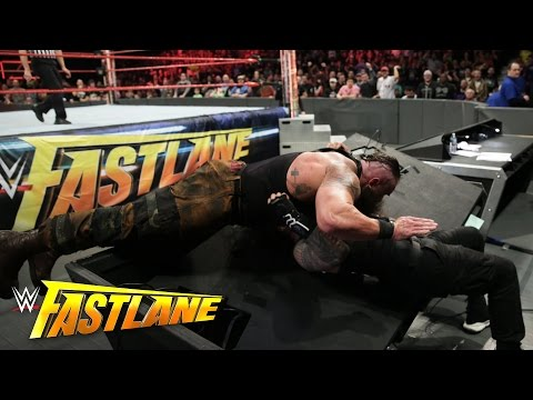 Roman Reigns vs. Braun Strowman: WWE Fastlane 2017 (WWE Network Exclusive)