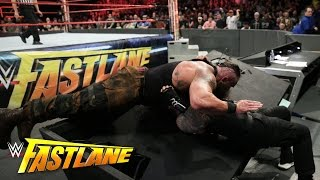 Roman Reigns vs. Braun Strowman: WWE Fastlane 2017 (WWE Network Exclusive)