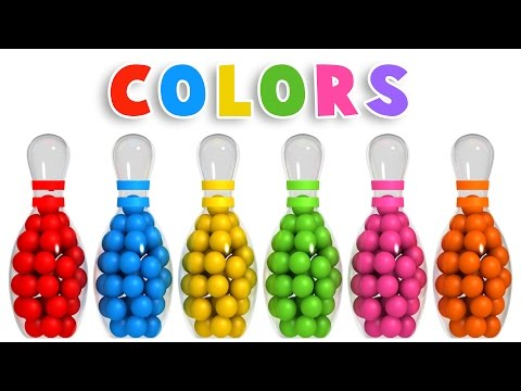 Xxx Mp4 Colors For Children To Learn With 3D Bowling Game Colours Videos Collection For Children 3gp Sex