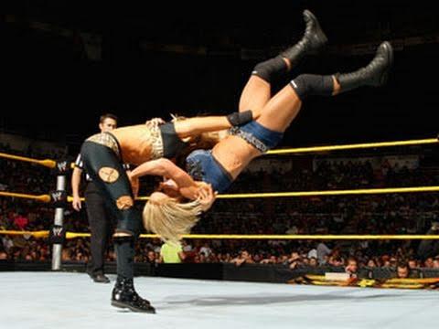 WWE NXT Aksana vs. Jamie