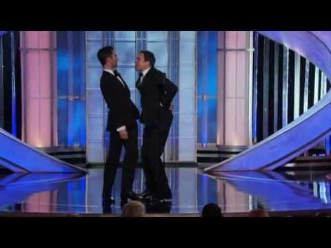 Jimmy Fallon and Adam Levine funny moments Golden Globes 2012 HQ