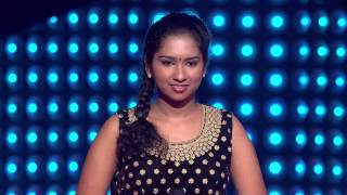 The Voice India - Varsha Krishnan Performance in Blind Auditions