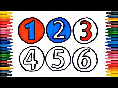 Xxx Mp4 Drawing Numbers How To Draw Numbers Colors Picture Coloring Book Numbers 123456 3gp Sex