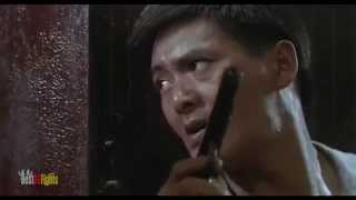 Chow Yun fat in  Hard Boiled Restaurant scene
