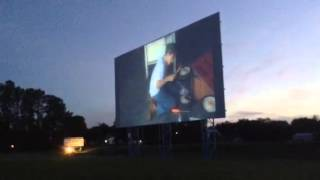 Live Marty Brown Video From Franklin, Kentucky Drive-In