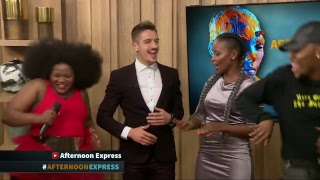 Paxton Fieles & Busiswa Gqulu | Afternoon Express | 18 May 2018