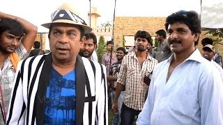 Attarintiki Daredi Movie Making || Brahmanandam Scene