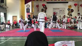 Tang Soo Do National- Kee Sheng Tan vs Kho Zhan Hong