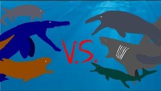 The Last Sea Monster Fight