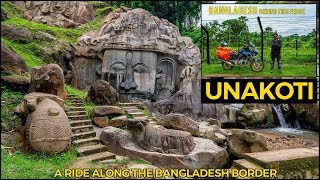 Ride along the Bangladesh Border and a world Heritage site Unakoti Tripura | Silchar | Agartala |