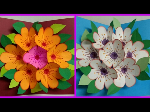 Xxx Mp4 Diy Art And Crafts Howto Make Pop Up Flower Surprise Flower Bouquet Card Father S Day Card 3gp Sex