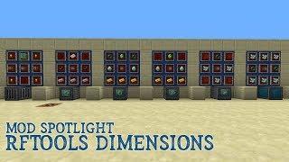 RFTools Dimensions - Mod Spotlight