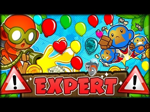 100 THE HARDEST EVER CHALLENGE IN BLOONS TD 5 YET Bloons Tower Defense 5 COOP