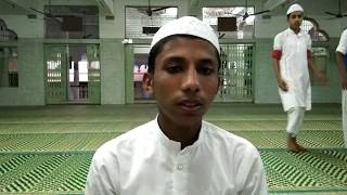 Madrasa merajul uloom Dharampuri Tamilnadu ke talaba e Aziz kafil ka naye andaj me tilawt e Quran