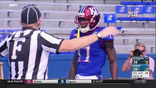 West Virginia vs Kansas Football Highlights