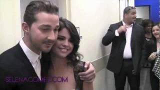 Selena Gomez Meeting Shia Labeouf