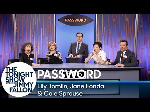 Password with Lily Tomlin Jane Fonda and Cole Sprouse